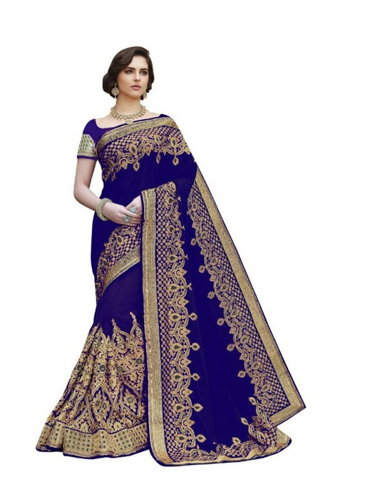 Chiffon Sarees with Blouse