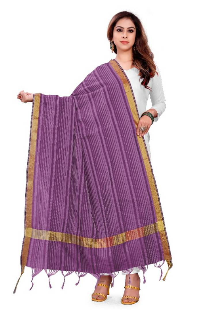 Decent Banarasi Silk Blend Dupatta woven design