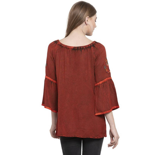 Women's Rayon Tunic Tops