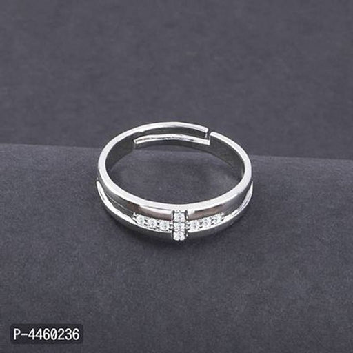 Silver Plated Adjustable Rings for Women's