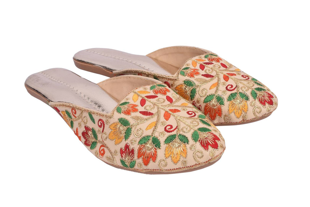 Women's Stylish and Trendy Multicoloured Embellished Synthetic Fancy Ballerinas