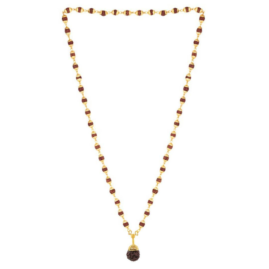Women's Beads Golden Wood Temple Chains