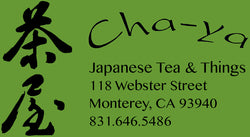 Cha-ya 4 Tea & Things