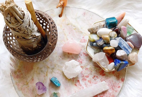 How to Cleanse & Charge Your Crystals