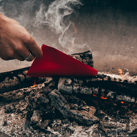 A Fire Ritual for Releasing Goddess Provisions