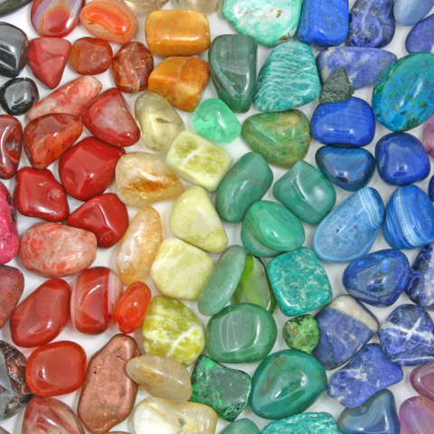 Color Therapy With Crystals Goddess Provisions