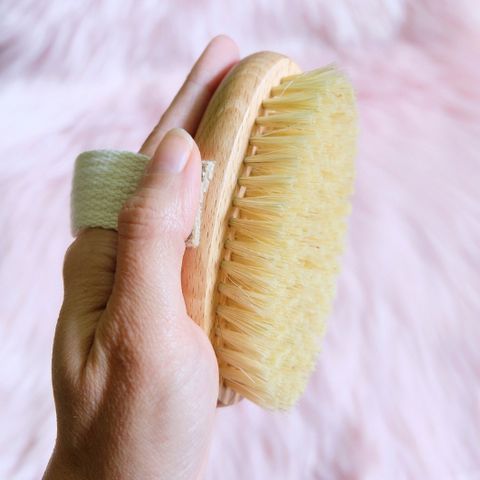 This Dry Brush Belongs In Your Wellness Toolkit Goddess Provisions