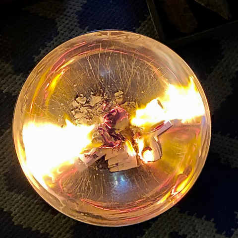 Release the Past with a Burning Bowl Ritual by Goddess Provisions