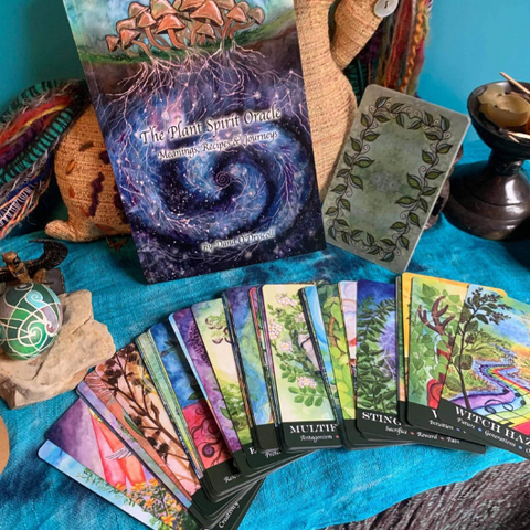 5 Botanical and Tarot Decks Every Green Witch Will Love by Goddess Provisions
