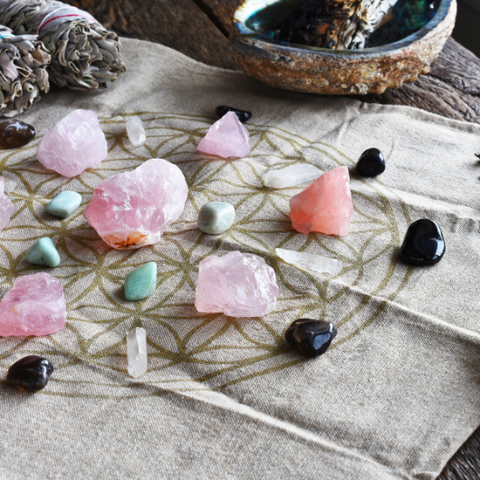 Manifesting Our Intentions With Crystal Grids Goddess Provisions