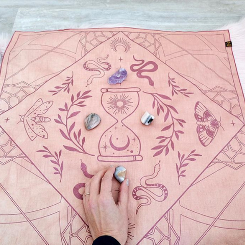 How to Make a Crystal Grid Goddess Provisions
