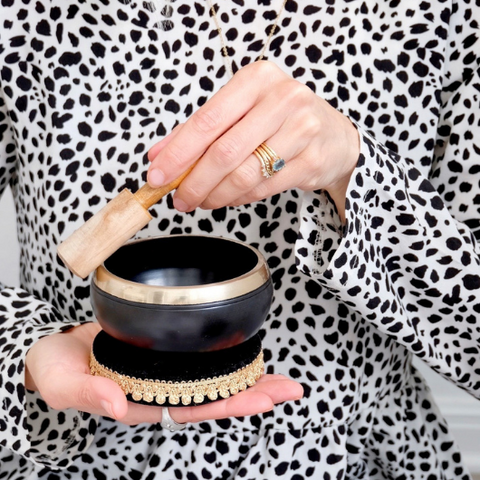 How to Play a Singing Bowl Goddess Provisions