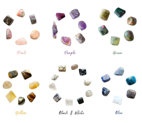 Color Crystals by Goddess Provisions