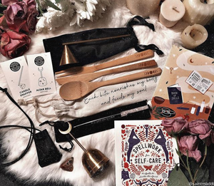 Spellwork Box full of enchanting tools available at Goddess Provisions