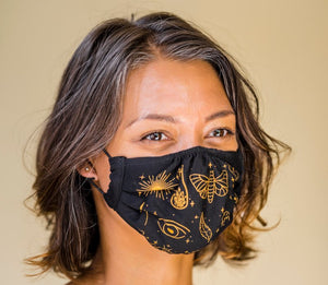 Crystal Infused Face Masks by Access our Eyes at Goddess Provisions