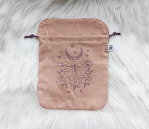 Plant Dyed Tarot Pouches