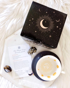 Moon Phase Divination Teacup by Goddess Provisions