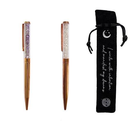 Crystal Pens by Goddess Provisions