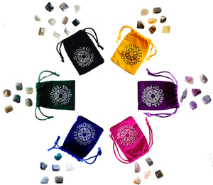 Color Crystal Sets by Goddess Provisions