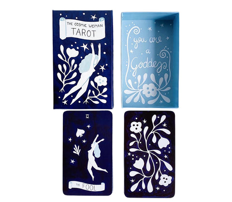 Cosmic Woman Tarot by Lisa Junius at Goddess Provisions