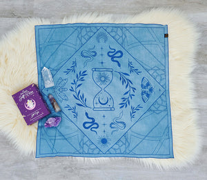 Plant Dyed Serpent Altar Cloths Goddess Provisions