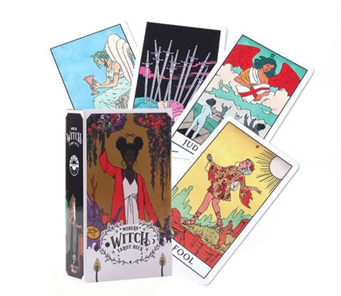 Modern witch Tarot by Lisa Sterle at Goddess Provisions