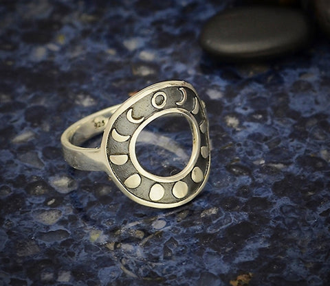 Moon Phase Ring at Goddess Provisions