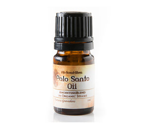 Palo Santo Anointing Oil at Goddess Provisions