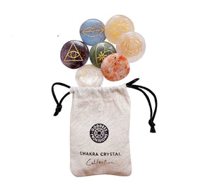 New School Pastel Chakra Crystal Set at Goddess Provisions