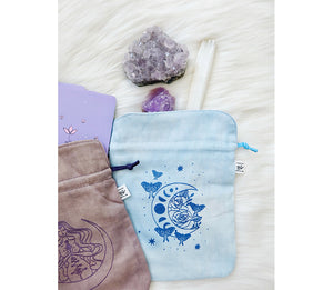 Plant Dyed Tarot Pouches at Goddess Provisions