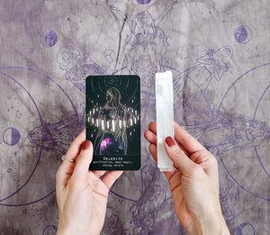 Moonlight Oracle Deck & Mat set at Goddess Provisions