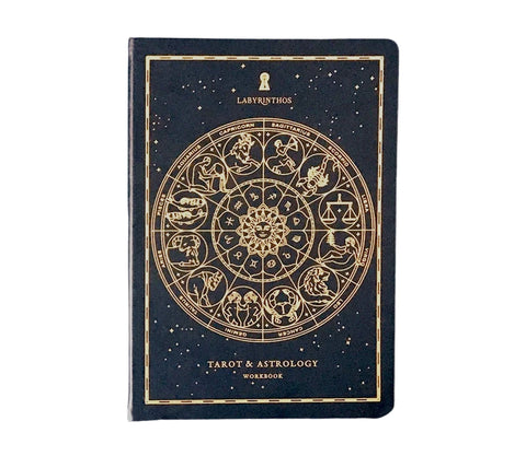 Tarot & Astrology Journal by Labryinthos available at Goddess Provisions.