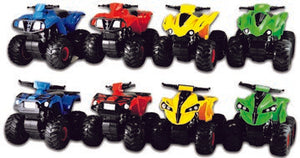 ITEM NUMBER 020473 ATV OFF ROAD WARRIOR 8 PIECES PER DISPLAY