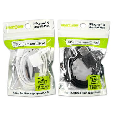 ITEM NUMBER 021126 GG MFI BAG CABLE 6 PIECES PER PACK