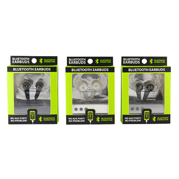ITEM NUMBER 021554 GG BT EARBUDS 3 PIECES PER PACK