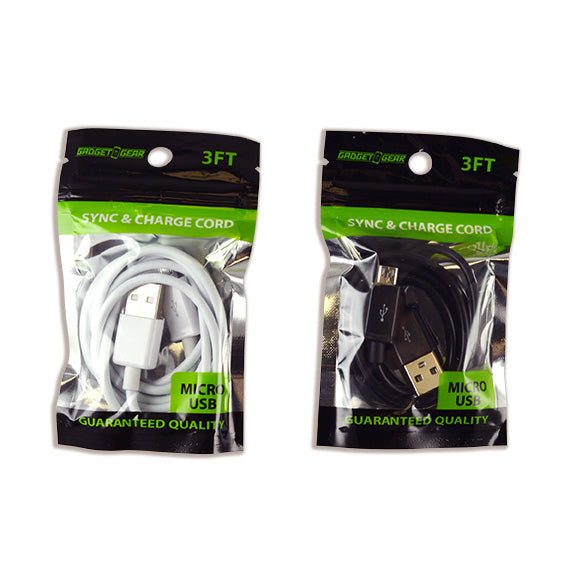 ITEM NUMBER 021563 GG BAG MICRO CABLE 6 PIECES PER PACK