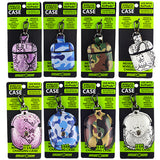 ITEM NUMBER 021659 EARBUD CASE PU COVERED 8 PIECES PER DISPLAY
