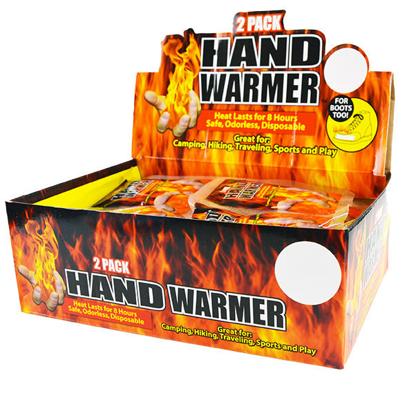 ITEM NUMBER 021764 HAND WARMER 24 PIECES PER DISPLAY