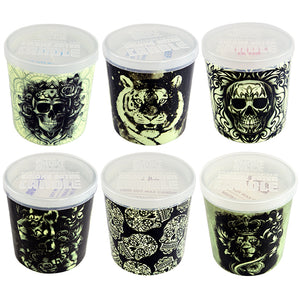 ITEM NUMBER 021873 GLOW in the DARK CANDLE 6 PIECES PER DISPLAY