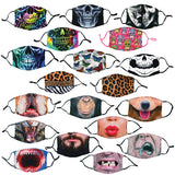 ITEM NUMBER 021889 PRINTED FACE COVERING 24 PIECES PER DISPLAY