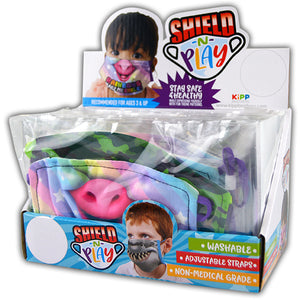ITEM NUMBER 021895 POLY KID FACE COVER 24 PIECES PER DISPLAY
