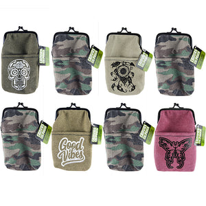 ITEM NUMBER 021898 CANVAS CIG POUCH 8 PIECES PER DISPLAY