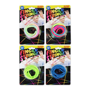 ITEM NUMBER 022053 FINGER STRINGZ 12 PIECES PER DISPLAY