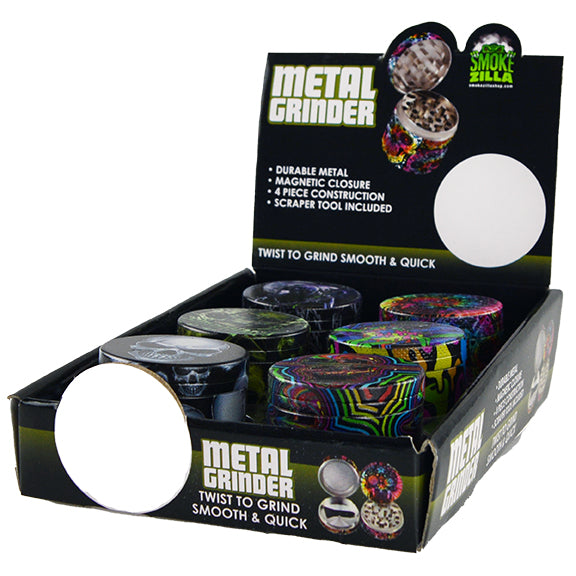 ITEM NUMBER 022060 FULL PRINT GRINDER C 6 PIECES PER DISPLAY