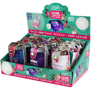 ITEM NUMBER 022108 MOTHER'S DAY HAND SANITIZER 12 PIECES PER DISPLAY