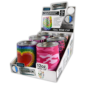 ITEM NUMBER 022265 WINE CUP MIX A PATTERNS 6 PIECES PER DISPLAY