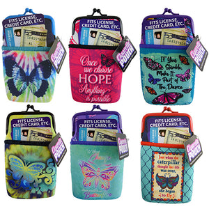 ITEM NUMBER 022335 BUTTERFLY CIG POUCH 6 PIECES PER DISPLAY