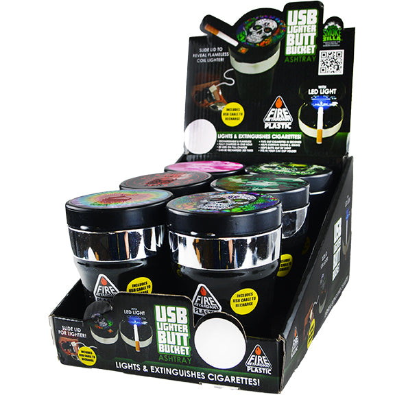 ITEM NUMBER 022378 USB BUTT BUCKET MIX D 6 PIECES PER DISPLAY