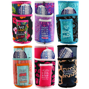 ITEM NUMBER 022469 SLIM CAN COOLER CIG POUCH 6 PIECES PER DISPLAY