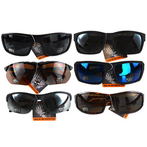 ITEM NUMBER 022484 BIKER SUNGLASSES 6 PIECES PER PACK